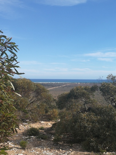 views of the sea and old telegraph station