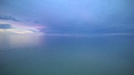 Brighton beach afterglow, South Australia